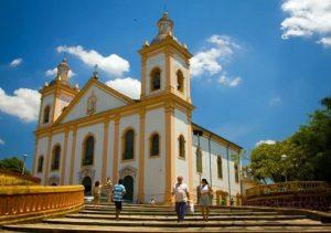 ALT = le chiese ed i musei di Manaus
