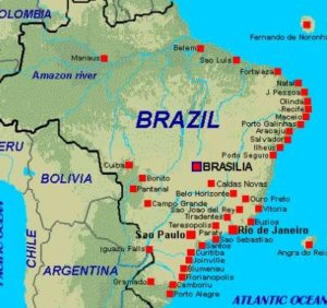 ALT = viaggiare a Manaus, Brasile