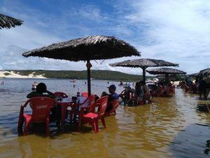ALT = spiagge Natal, Brasile Lagoa di Arituba