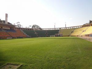 "alt= ""cosa visitare a San Paolo, Brasile: Stadio Pacaembu, Mueo del Calcio"""