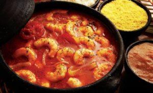 ALT = piatti tipici brasiliani, mocheca di pesce