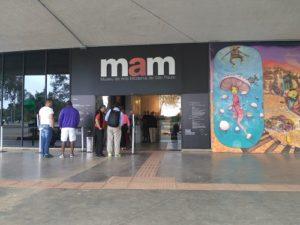 ALT = MAM, museo arte moderna di San Paolo, Brasile