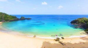 ALT = spiagge più belle del Brasile, Praia do Sancho, Fernando de Noronha