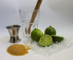 ALT = gli ingredienti per la vera caipirinha brasiliana
