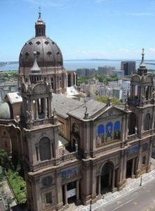 ALT = chiese a Porto Alegre, Brasile, Cattedrale Metropolitana